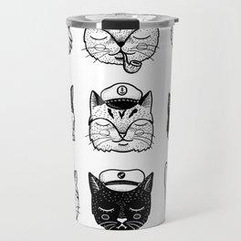 Ocean Cats Travel Mug