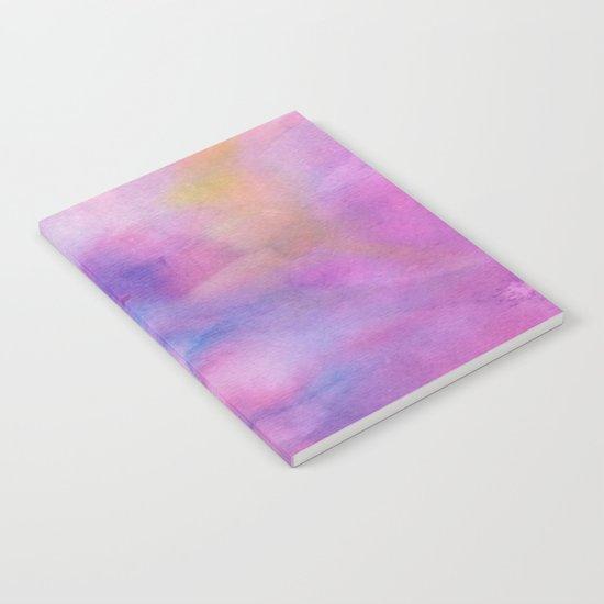 Purple Watercolour Notebook