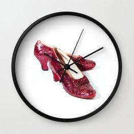 Ruby Slippers Wall Clock
