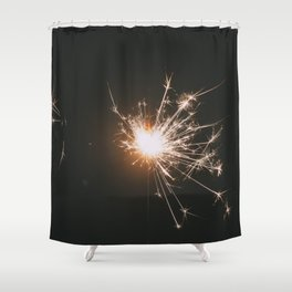 Spark, II Shower Curtain