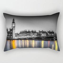 Westminster At Night Rectangular Pillow