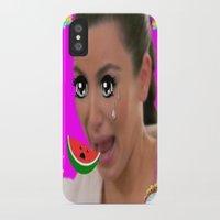 kardashian iPhone & iPod Cases featuring Kawaii Kim by Gabbi GOON