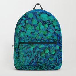 Peacock Watercolor Painting Backpack