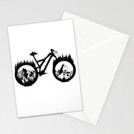 Enduro Bike Stationery Cards