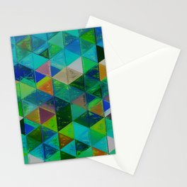 Lozenges Stationery Cards