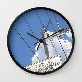 Giggling Gator Wall Clock