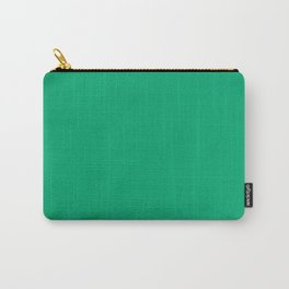 Sesame Street Green - solid color Carry-All Pouch
