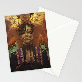 Spookstar Angel/Demon Stationery Cards