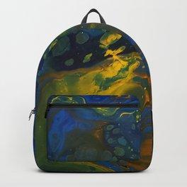Underneath Backpack