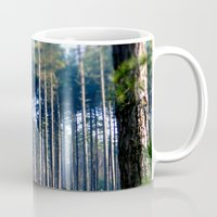 woods Mugs featuring Woods by madbiffymorghulis