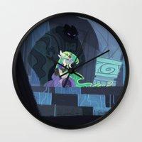 hyrule Wall Clocks featuring When Hyrule Drowns by Ann Marcellino