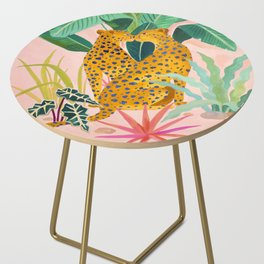 Cheetah Crush Side Table