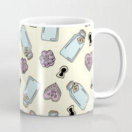 Eat Me, Drink Me - Yellow Coffee Mug