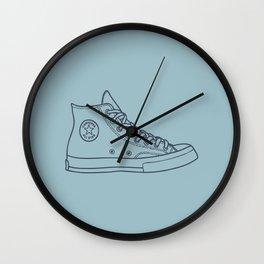 """Chuck """"B L U"""" Wall Clock"""