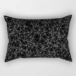 DELAUNAY TRIANGULATION b/w Rectangular Pillow
