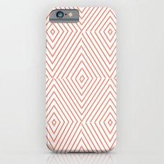Red Stripes iPhone 6s Slim Case
