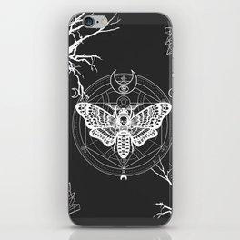 Witch Craft White iPhone Skin