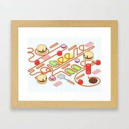 Tasty Visuals - Squeeze Me Framed Art Print