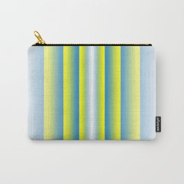 Stripe Gradient Carry-All Pouch