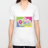 grace V-neck T-shirts featuring Grace  by biblebox