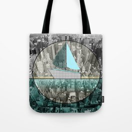 follow your own flow Tote Bag