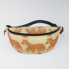 Gingerbread Unicorn Fanny Pack
