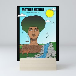 Mother Nature (The Evolution of American Slavery) Mini Art Print