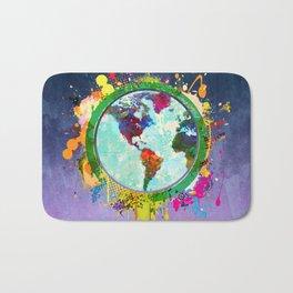 World Map - 2 Bath Mat