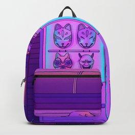 Neon Vending Machines Backpack