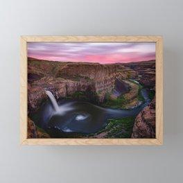 Palouse Falls Framed Mini Art Print