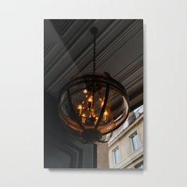 Parisian Lights III Metal Print