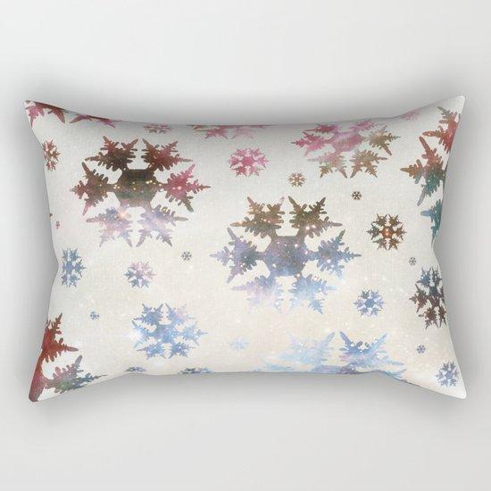 Star Snow Rectangular Pillow
