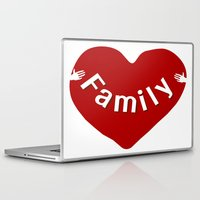 family Laptop & iPad Skins featuring Family by Geni