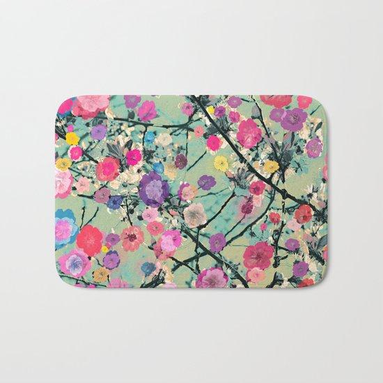 Floral abstract(60) Bath Mat