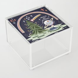 Miracles and blessings Acrylic Box