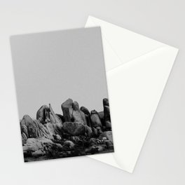 Joshua Tree Rock Formations I Stationery Cards