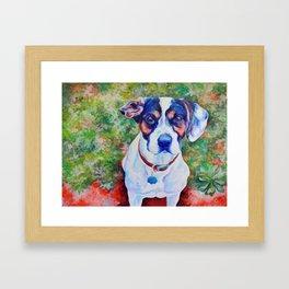 Lily (*Koinonia*) Framed Art Print