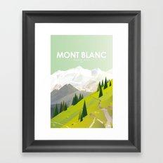 Alone In Nature - Là Haut Framed Art Print
