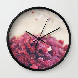 174 - Rasperries Wall Clock