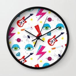 Ziggy Played Guitar Wall Clock