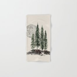 Full Moon Rising Hand & Bath Towel