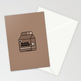 Black Women - Chocolate Stationery Cards