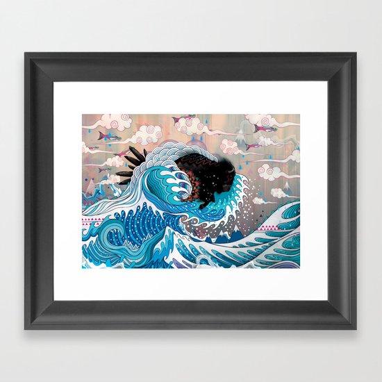 The Unstoppabull Force Framed Art Print