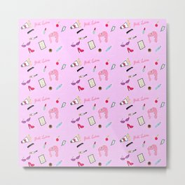 Diary of a Pink Lady Metal Print