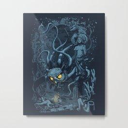 Defender of the Deep  Metal Print