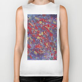 Abstraction pattern Biker Tank