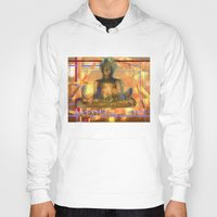 meditation Hoodies featuring Meditation by Paola Canti