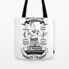 Vintage Boxing Tote Bag