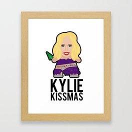 Kylie - Snow Queen Framed Art Print