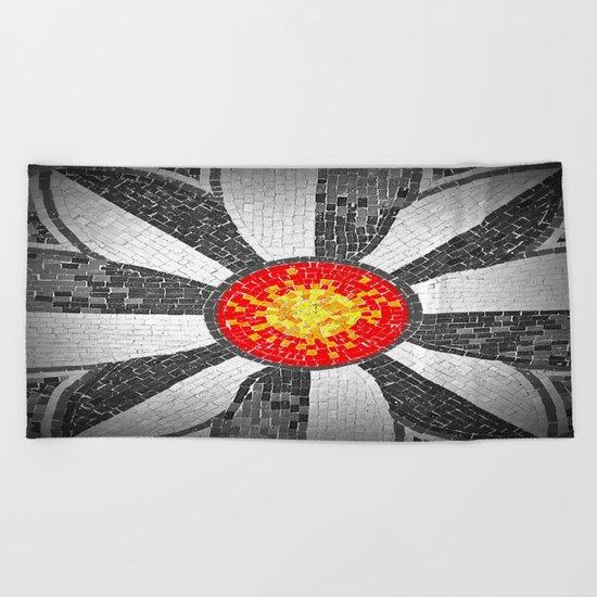 mosaic xx2 Beach Towel